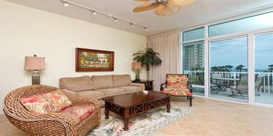 Photo for Sapphire 305... 3rd floor, front and center ocean views and large balconies!!