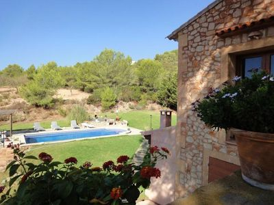 Photo for Can Vicenç -  Charming 3 Bedroom House with Private Pool, at the Vall d´Or Golf ! - Free WiFi