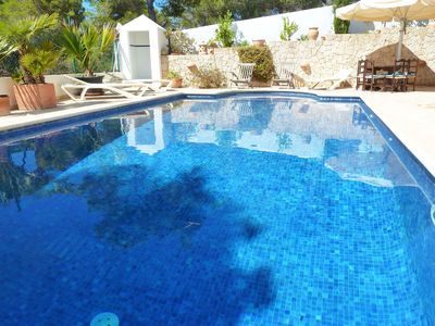 Photo for Finca in the hills by the beach – 180° ocean view and garden