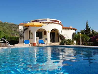 Photo for Dream Villa with private pool + sea views for up to 5 people in Calpe