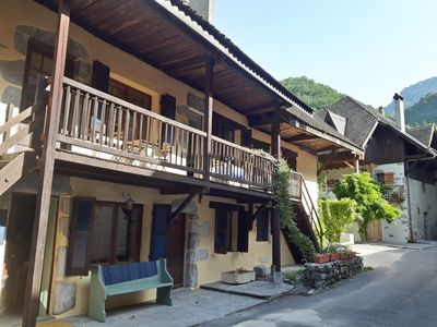 Photo for 'Les Poulets'  Charming old village house in the hamlet of Angon