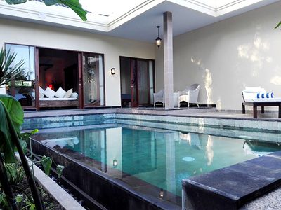 Photo for Stunning chick one bedroom villa with private pool