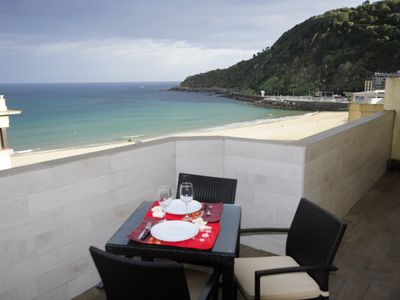 Photo for Penthouse Frontbeach Sea Views!!! Big terrace