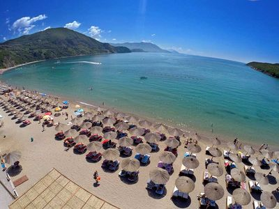 Photo for Exclusive 1 bedroom apartment, a short walk from Rafailovici sandy beach