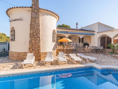 Photo for Fantastic Holiday Home with Private Pool in L'Escala
