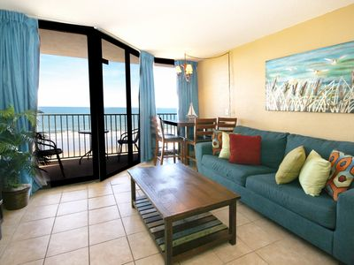 Sand Dunes Newly Remodeled Oceanfront 1bd w/Beautiful Views, sleeps 6