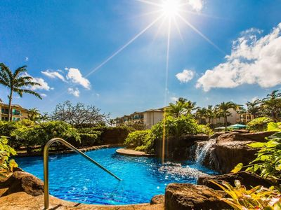 Waipouli Beach Resort Luxury Garden View Condo AC Pool
