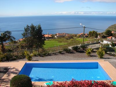 Photo for 3 COTTAGES in a farm house, POOL, SEA VIEW & SUNSETS, free WIFI & Parking