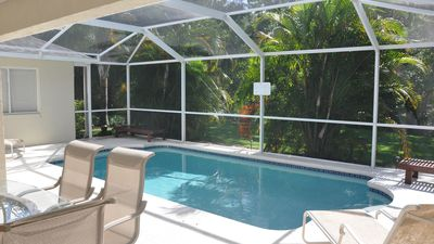 Your VERY Private Pool - Maintained & heated to 89° just for you! Photo June2017