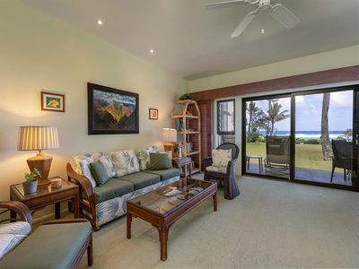 Photo for Ground Floor Ease w/Lanai, Full Kitchen, Ceiling Fans, WiFi, TV+DVD–Kaha Lani 112