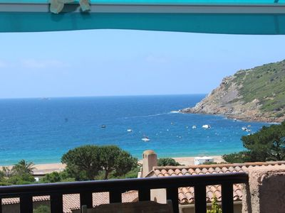 Photo for Sea view villa 130 meters from the beach !