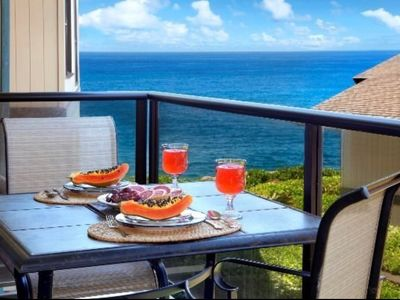 Photo for NEW!! Poipu poolside paradise with ocean views