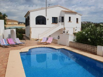 Photo for Flandes - traditionally furnished detached villa with peaceful surroundings in Benissa