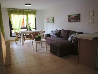 Photo for Palm Mar Holiday: Spacious apartment  with pools, paddle court and free WIFI