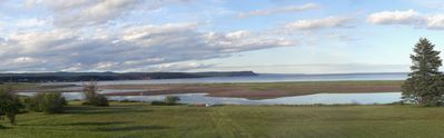 Shipyard Cottage - View of Quaco Bay from the deck