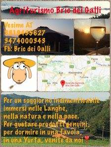 Photo for Agriturismo Bric dei Galli adventure in Yurt