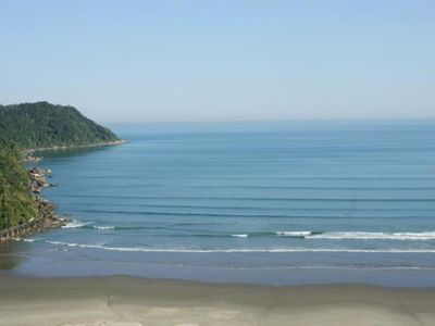 Photo for Canto do Forte apt to 50 meters from the beach 2 bedrooms, living room, balcony, kitchen.