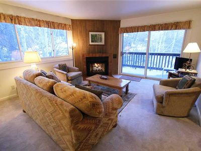 Photo for Snow Flower Condo #148, 2 bedroom 2 bath, sleeps 6, SKI-IN/SKI-OUT to Park City Mountain Resort