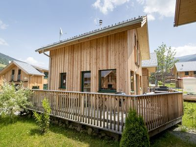 Photo for Beautiful and atmospheric chalet directly on the slopes