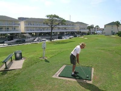 1 bedroom at the golf course at Sandpiper Cove Resort