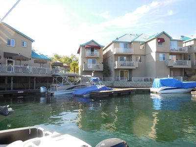 Individual Home (Looking from dock in the Marina)