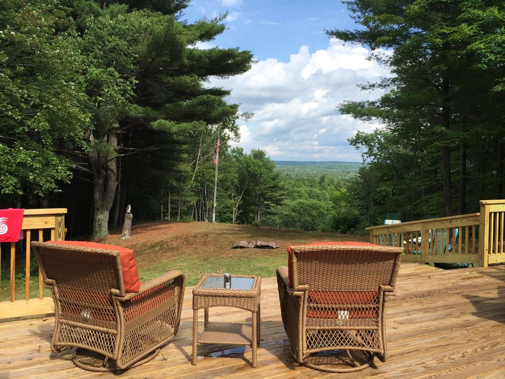 private home on 100 wooded acres only 15 mi vrbo