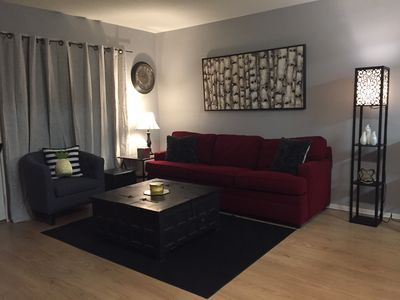 Photo for SPACIOUS 1bedroom condo next to A stadium!