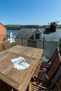 Photo for Dartmouth townhouse with AMAZING views of the River Dart and private decking