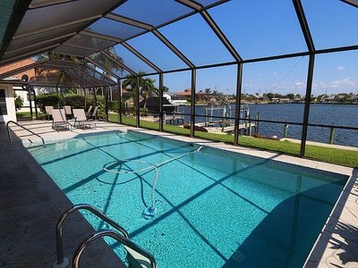 Photo for Waterfront Home in Cape Coral! Lakeside Landing