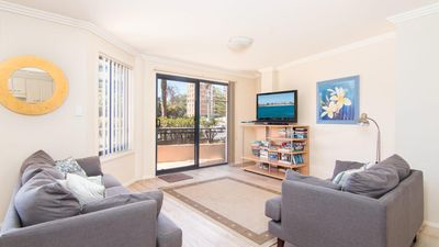 Photo for Millenium 102, ground floor apartment with swimming pool in complex