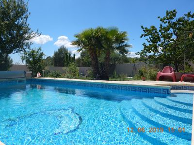Photo for Montpellier Lovely villa of 160m² with garden and pool