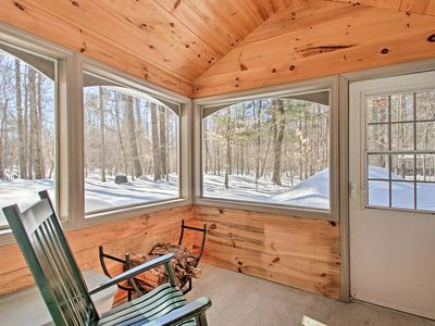Photo for NEW! North Conway Home w/ Sunroom-Near Saco River!