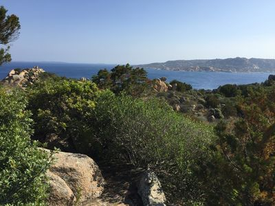 Photo for Villa overlooking the Maddalena Archipelago.