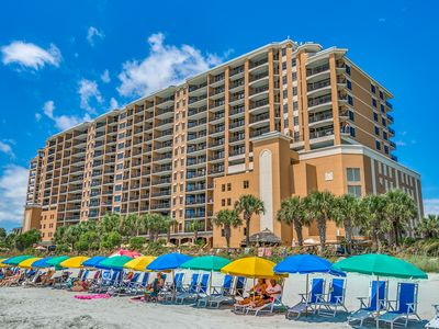 Photo for 3BR Oceanfront Suite with Free DVD Rentals and A Complimentary Attraction Ticket