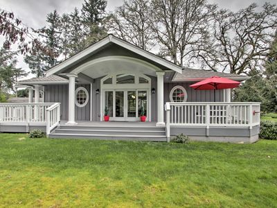 Photo for NEW! Contemporary Tacoma Cottage w/ Deck & Pond!