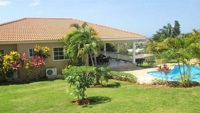 Photo for 4BD inexpensive guest-friendly villa with pool in central Sosua, low downpayment