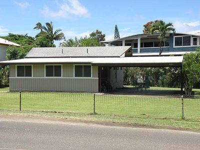 Photo for Chung Cottage - a 1br/1.5ba cottage steps from Hanalei Bay