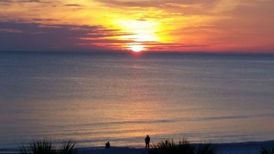 Photo for Beautiful View of The Gulf Waters, White Sandy Beaches and Sunsets at 414!