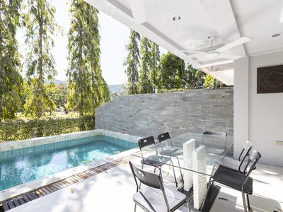 Photo for 5 bedroom/bathroom villa for 14 guests, private pool, 7kms to Patong beach.