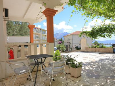 Photo for One bedroom apartment with terrace and sea view Duće, Omiš (A-18302-b)