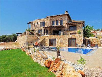 Photo for Exclusive Luxury Villa - Outstanding Sea Views - Latchi Area - Jacuzzi - Pool