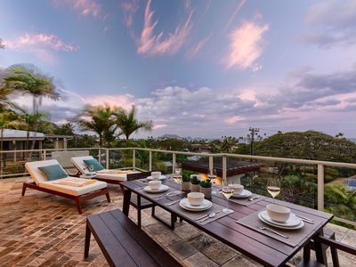 Photo for Kailani Villa - Sweeping views of the ocean and of the ocean and Mokulua Islands