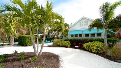 Photo for Beach Cottage only steps to the white sandy beaches of Anna Maria Island!