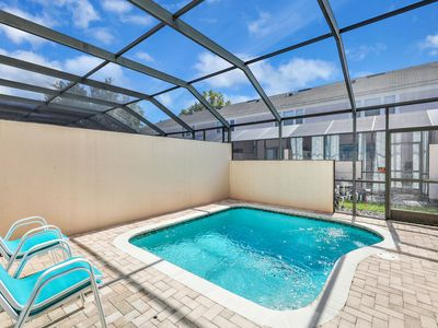 Photo for Townhome w/private pool & shared hot tub in Windsor Palms! 6 miles to Disney!