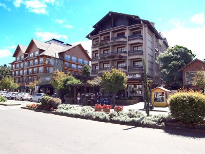 Photo for Apartment in the center of Gramado - 100m from Coberta Street