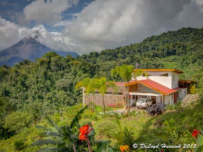 Photo for A Private, Romantic Vacation spot!  See Arenal Volcano and Lake from the house