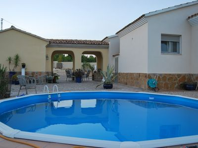Photo for Enjoy the country at Finca Alegria, with swimming pool and only 12 km from the sea