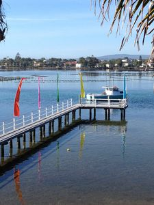 "Photo for ""Waterfront"" on Merimbula Lake 3 Bedroom Apartment"