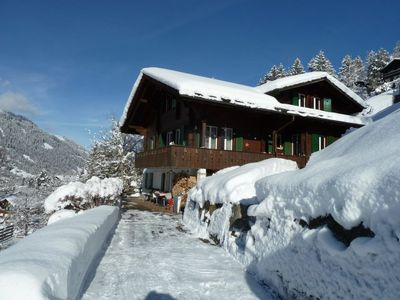 Photo for Apartment Bach in Lenk - 2 persons, 1 bedrooms