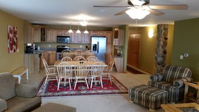 Photo for Beautiful Lakefront Condo on Castle Rock Lake at Northern Bay Resort!